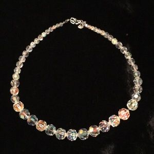 Swarovski Crystal bead necklace. Stunning!